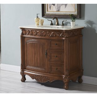 Alexis Traditional 36 Single Bathroom Vanity Set