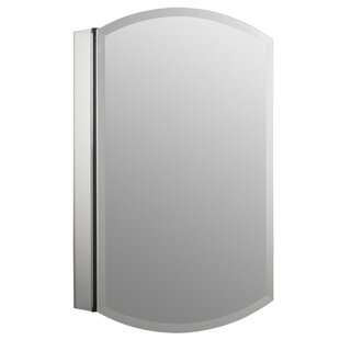 Archer 20 X 31 Aluminum Recessed Or Surface Mount Medicine Cabinet With Mirrored Door