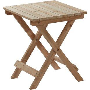 Dede Wooden Side Table Image
