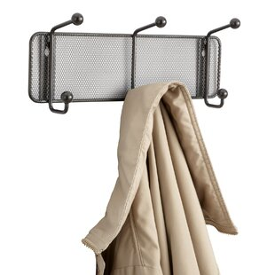 Burbach Wall Mounted Coat Rack By Mercury Row