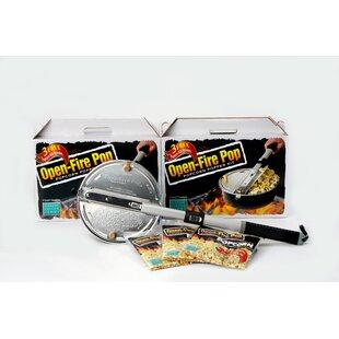 2.7 Oz. Open Fire Popcorn Popper Kit
