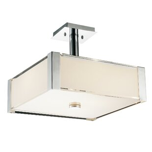 CWI Lighting Lucie 3-Light Square/Rectangle Chandelier