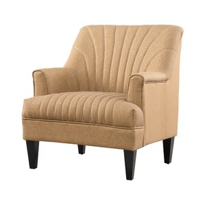 Crippen Back Armchair by Alcott Hill