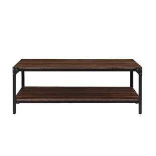 Baskett Coffee Table with Storage by Williston Forge