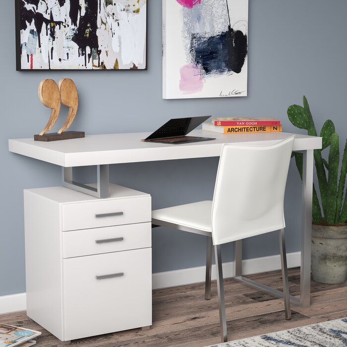 brayden studio pascua writing desk reviews wayfair ca