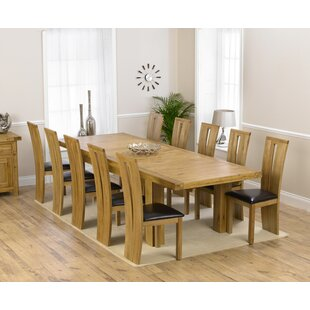 Patricia Extendable Dining Set With 10 Chairs By Home Etc