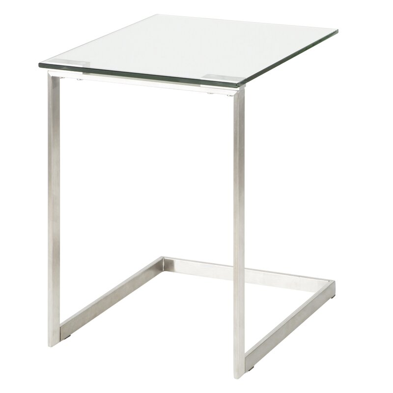 Wrought Studio Golding Modern End Table Reviews Wayfair