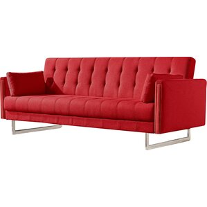 Cana Wood Frame Sleeper Sofa by Orren Ellis