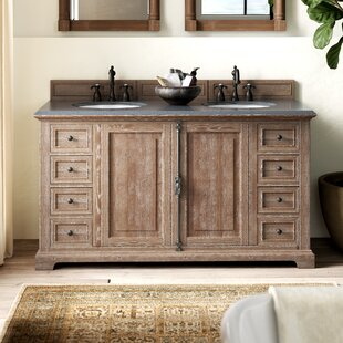 Ogallala 60 Double Cabinet Vanity Base Only By Greyleigh