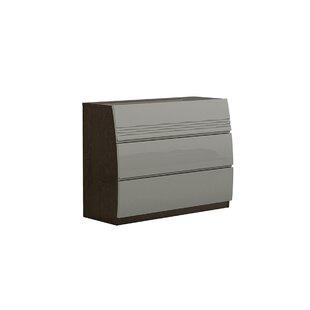 Eberhart 3 Drawer Dresser by Orren Ellis