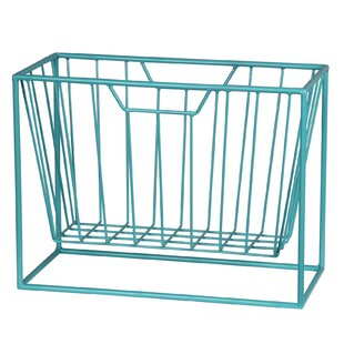 Quijano Iron Magazine Rack