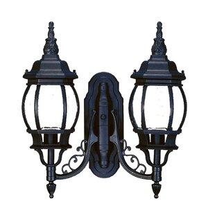 Reva 2-Light Outdoor Wall Lantern