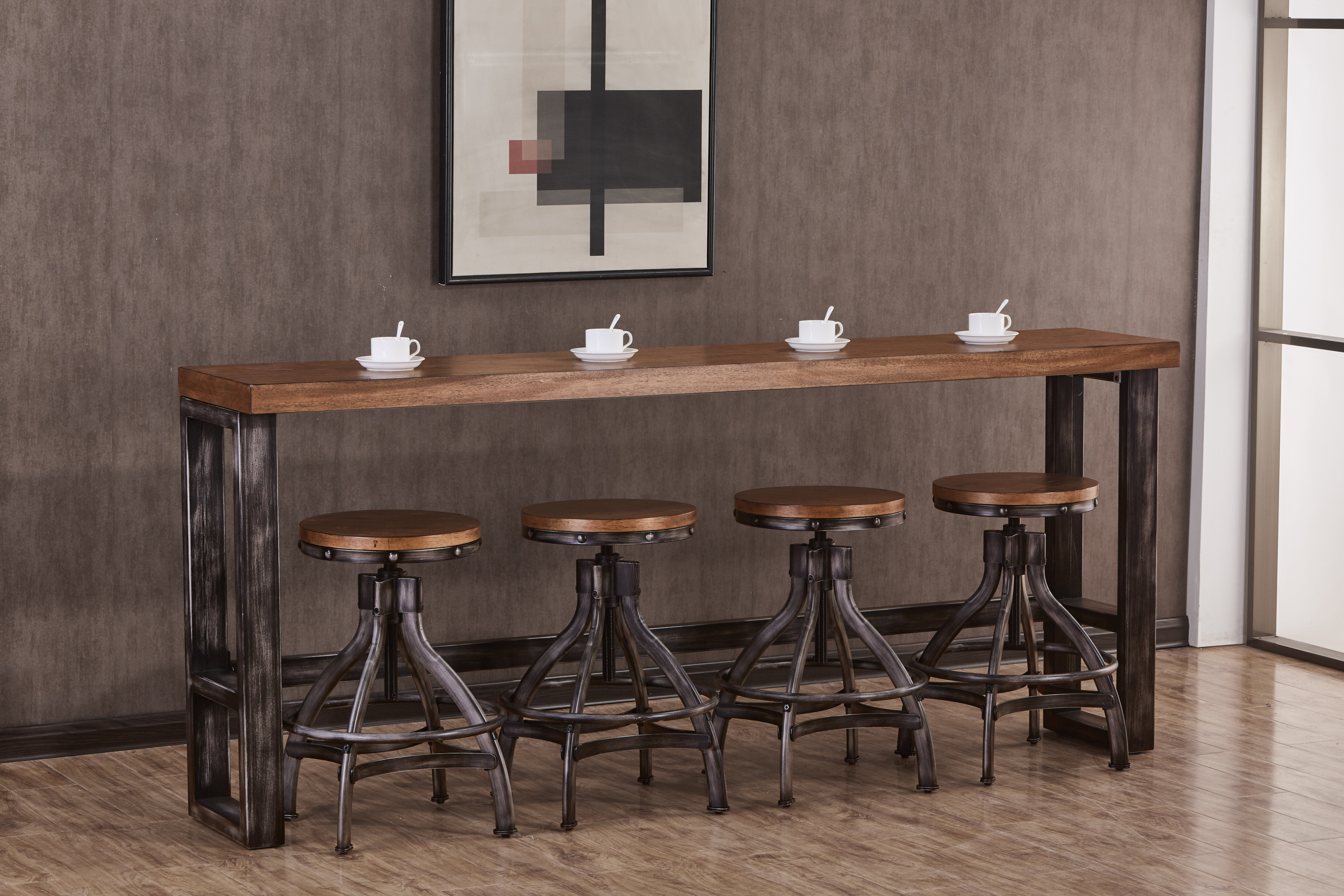 Industrial Tall Kitchen Dining Tables You Ll Love In 2021 Wayfair