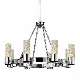 Bromi Design Talon 8-Light Shaded Chandelier
