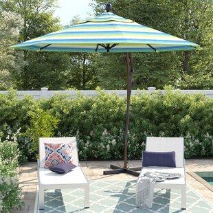 Capri 9' Cantilever Sunbrella Umbrella