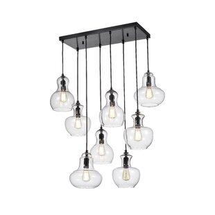 Regency 8-Light Cluster Pendant by Gracie Oaks