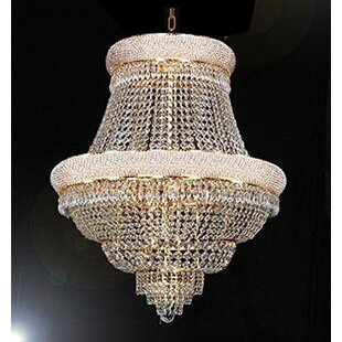Rosdorf Park Bortz 21-Light Chandelier