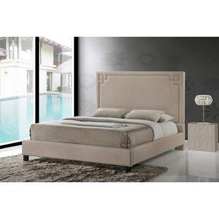 Vihaan Upholstered Platform Bed by Mercer41
