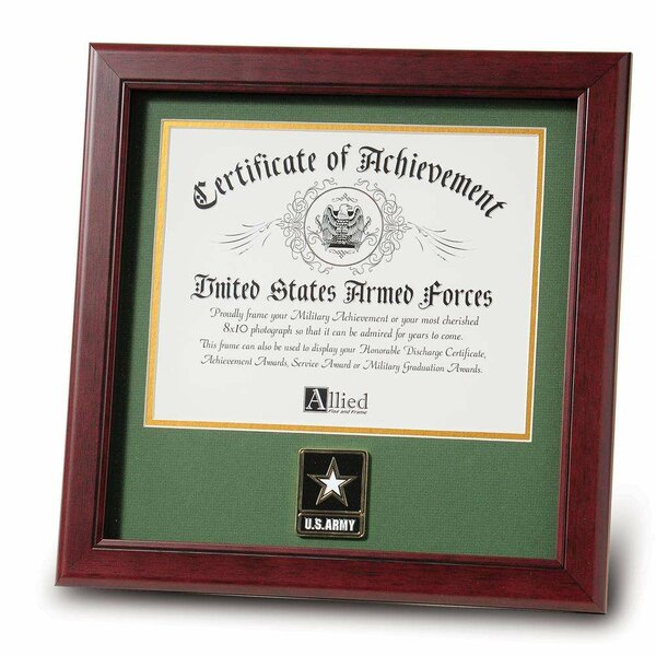 Officially Licensed 14 X 11 Perfect for Home or Office! United States Army Featuring the Army Seal and Oath on a Parchment Background Framed Print