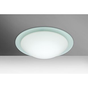 Besa Lighting Ring 1-Light Outdoor Flush Mount