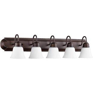 Charlton Home Holbrook 5-Light Vanity Light