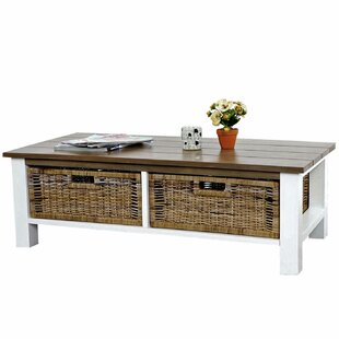 Emmert Coffee Table With Storage By Beachcrest Home