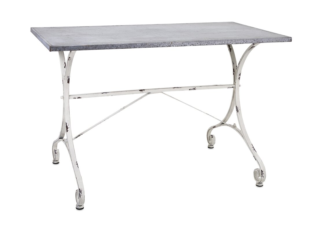 Halluin Console Table #vintagestyle #metaltable