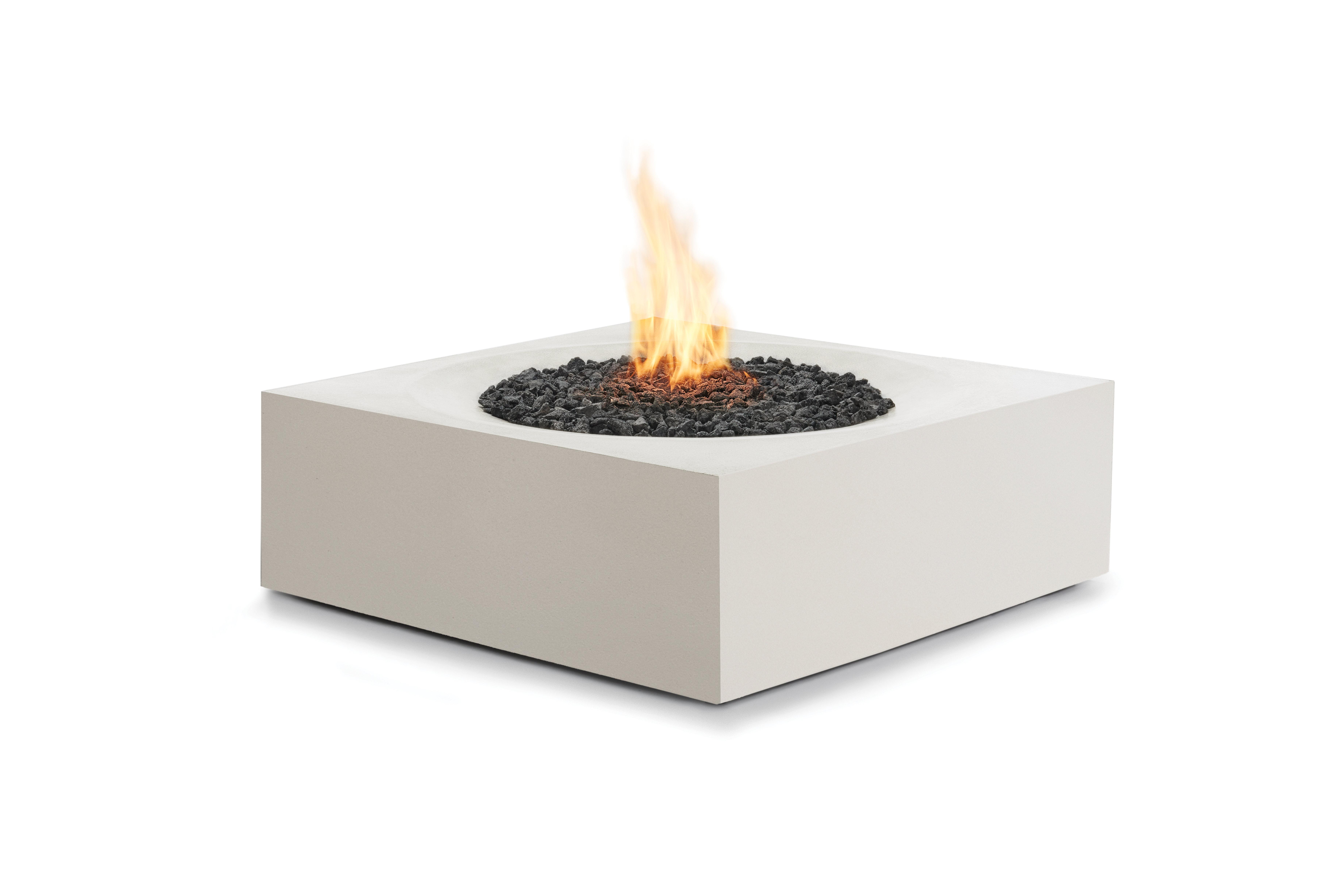 BJFS Solstice Concrete Gas Fire Pit Table | Wayfair