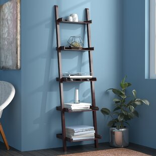 Kathryn 5-Tier Ladder Bookcase Winston Porter