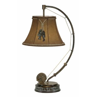 Fishing Pole 26 Arched Table Lamp