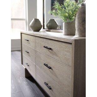 Keiper 6 Drawer Double Dresser by Brayden Studio