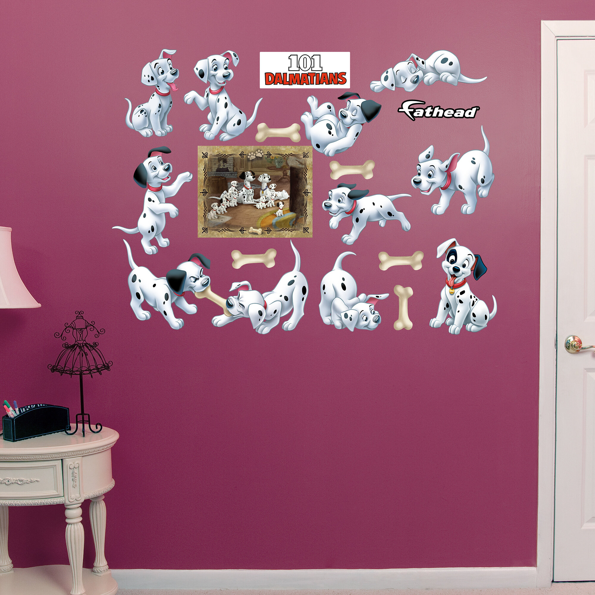 Disney Dalmatians 101 Wall Sticker