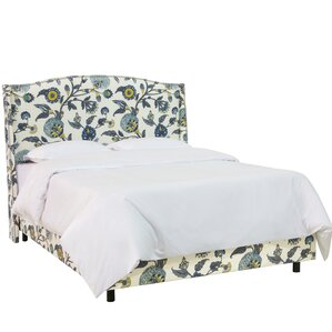 Haines Upholstered Panel Bed by Red Barrel Studio