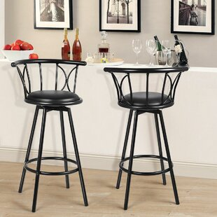 Top Reviews Martinek 31 Swivel Bar Stool (Set of 2) by Charlton Home Reviews (2019) & Buyer's Guide