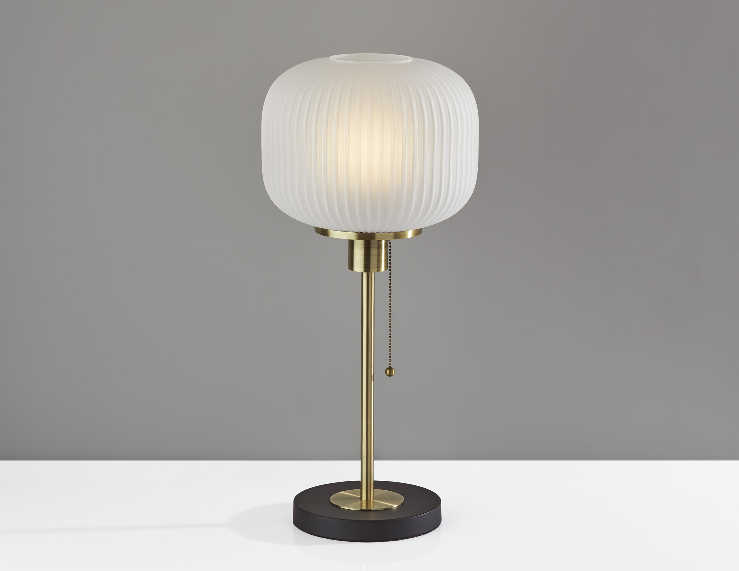 Everly Quinn Jacklyn 22 Brass Table Lamp Wayfair