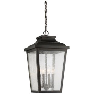 Mayhugh 4-Light Outdoor Hanging Lantern