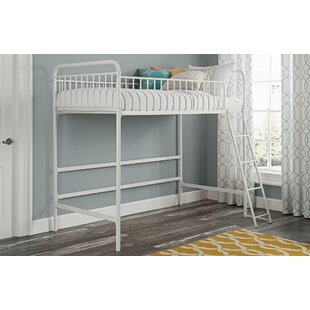Angelita Twin Loft Bed by Viv + Rae