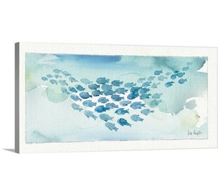U0027Sea Life IVu0027 By Lisa Audit Painting Print