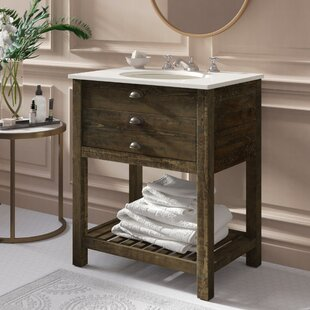 Best Reviews Ladwig 1 Drawer 30 Single Bathroom Vanity By Mercer41