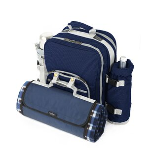 Super Deluxe Picnic Backpack By Symple Stuff