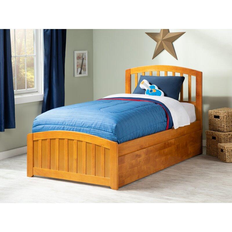 Viv Rae Luisa Platform Twin Bed With Trundle Wayfair