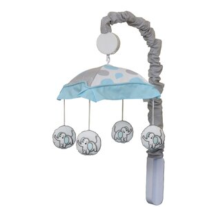 Blizzard Elephant Baby Nursery Musical Mobile