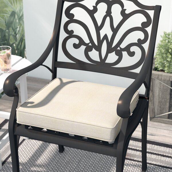Arlmont Co Pina Fadesafe Square Outdoor Dining Chair Cushion Reviews Wayfair