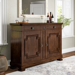 Back Bar Cabinet With Wine Storage