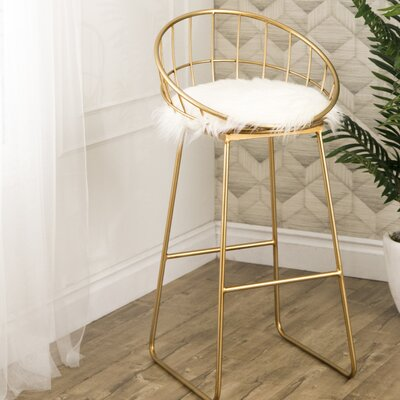 Round Seat Low Back Bar Stools You Ll Love In 2019 Wayfair
