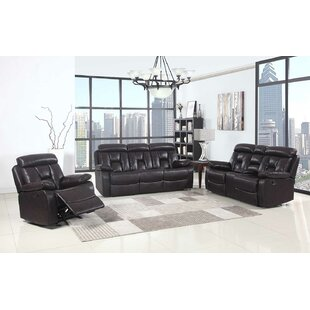 Red Barrel Studio Claverton Down Reclining 3 Piece Living Room Set (Set of 3)
