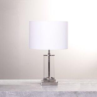 Kody Glass Column 20 Table Lamp