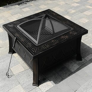 Steeg Steel Wood Burning Fire Pit By Bring Home Furniture
