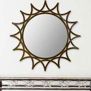 Bloomsbury Market Star Metal Wall Mirror