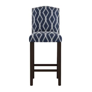 Edford Arched Crossweave 24 Bar Stool Wrought Studio